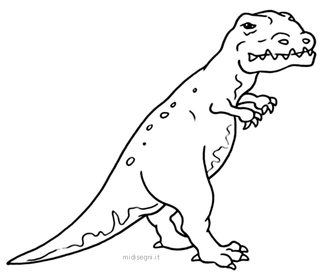Dinosauri colorati - Disegni da colorare - IMAGIXS - Do It!